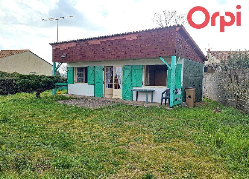 Maison à vendre 36m2 à Longeville-sur-Mer