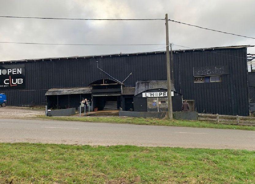 Immeuble à vendre 2000m2 à Lottinghen