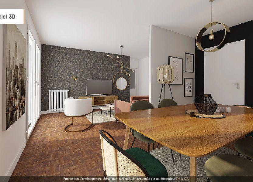 Appartement à vendre 57m2 à Meyzieu