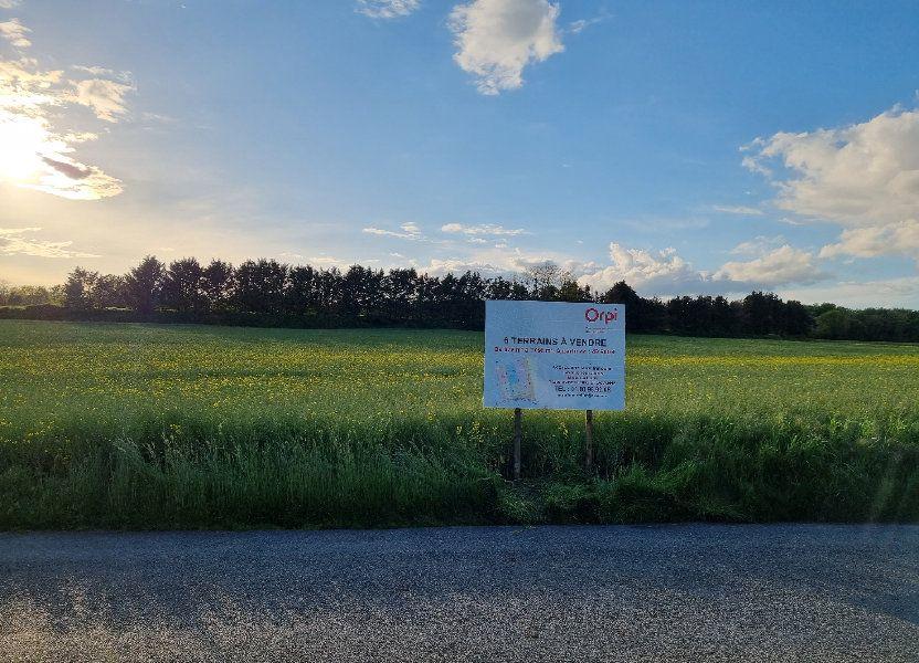 Terrain à vendre 872m2 à Château-Landon