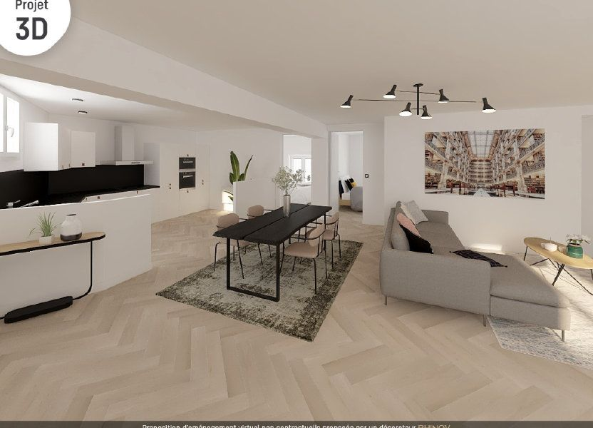 Appartement à vendre 72m2 à Vienne