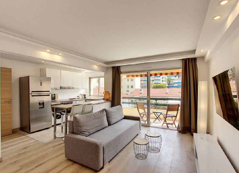 Appartement à vendre 42.44m2 à Juan-les-Pins - Antibes
