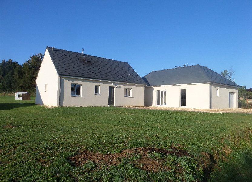 Maison à vendre 109.24m2 à Varennes-lès-Narcy