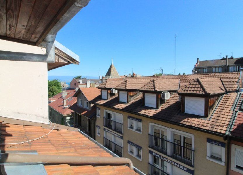 Appartement à louer 45.58m2 à Thonon-les-Bains