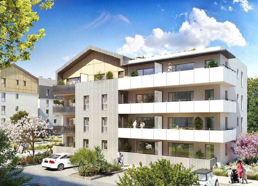 Appartement à vendre 89m2 à Bons-en-Chablais