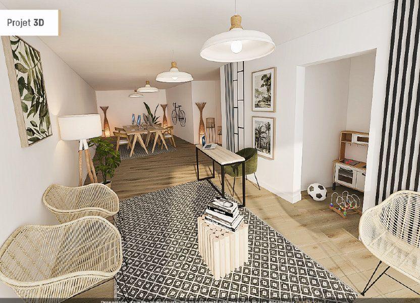 Appartement à vendre 98m2 à Malzéville