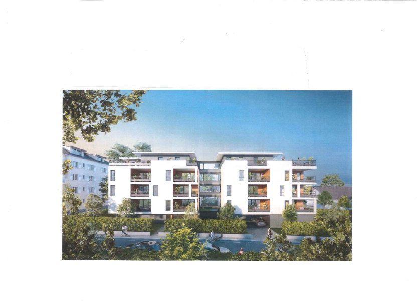 Appartement à vendre 86.32m2 à Thonon-les-Bains