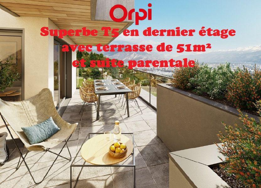 Appartement à vendre 107.55m2 à Seyssins