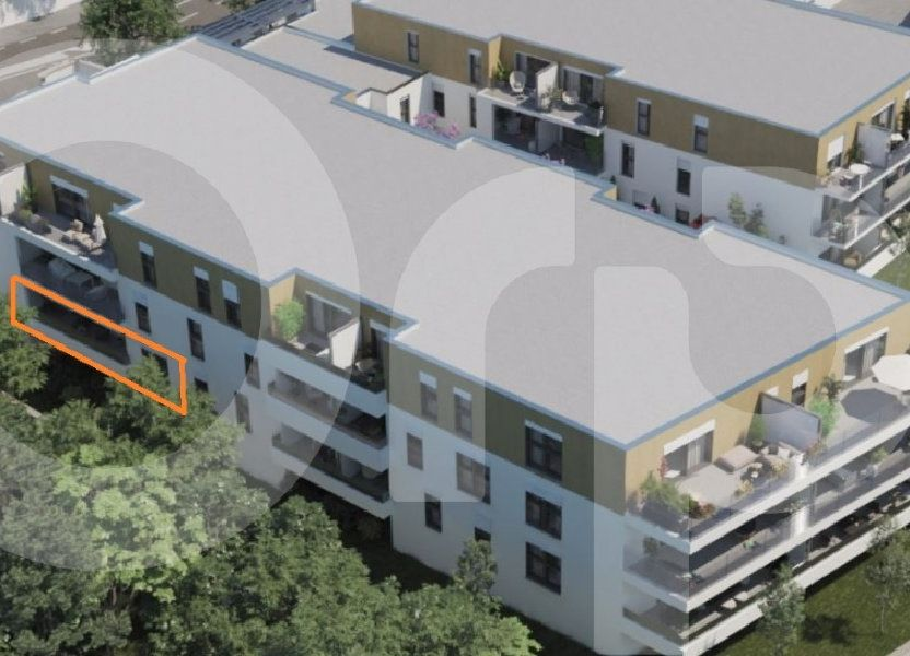 Appartement à vendre 64.82m2 à Villeneuve-lès-Avignon