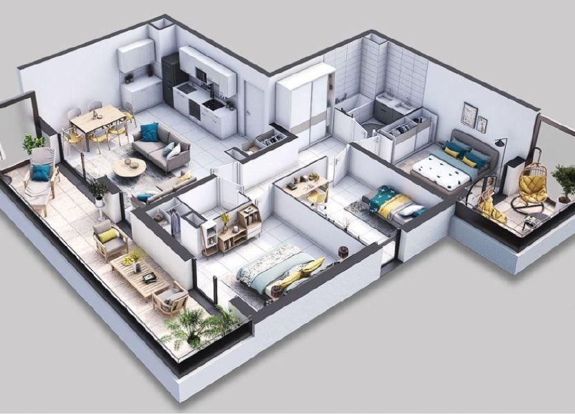 Appartement à vendre 80.01m2 à Villeneuve-lès-Avignon