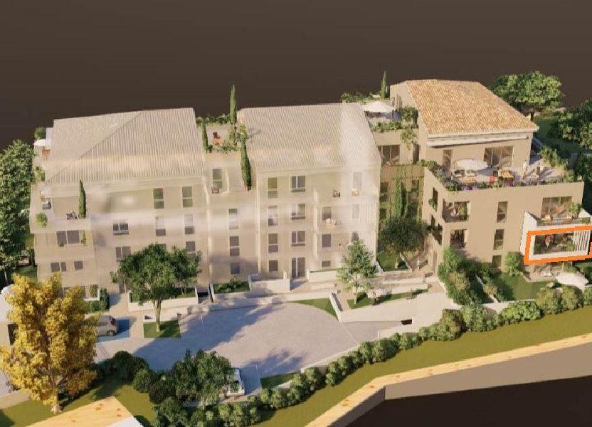 Appartement à vendre 58.55m2 à Villeneuve-lès-Avignon