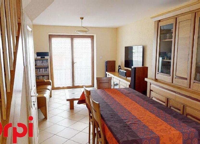 Maison à vendre 75m2 à Montagnieu