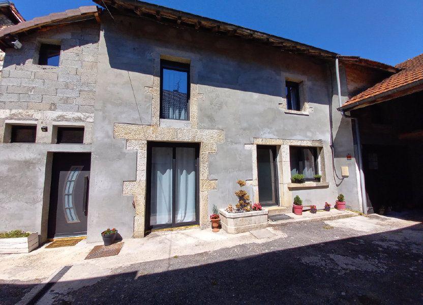 Maison à vendre 115m2 à Peyrieu