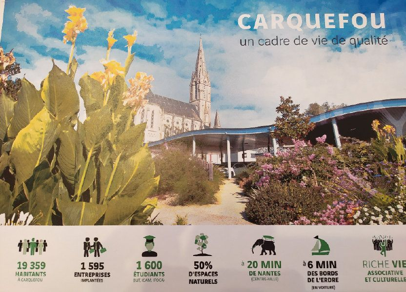 Appartement à vendre 39m2 à Carquefou