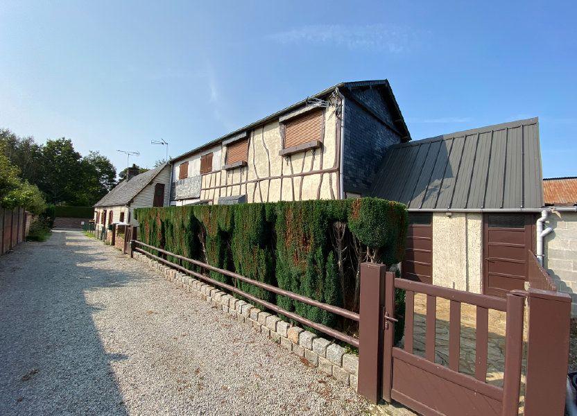 Maison à vendre 80m2 à Saint-Nicolas-d'Aliermont