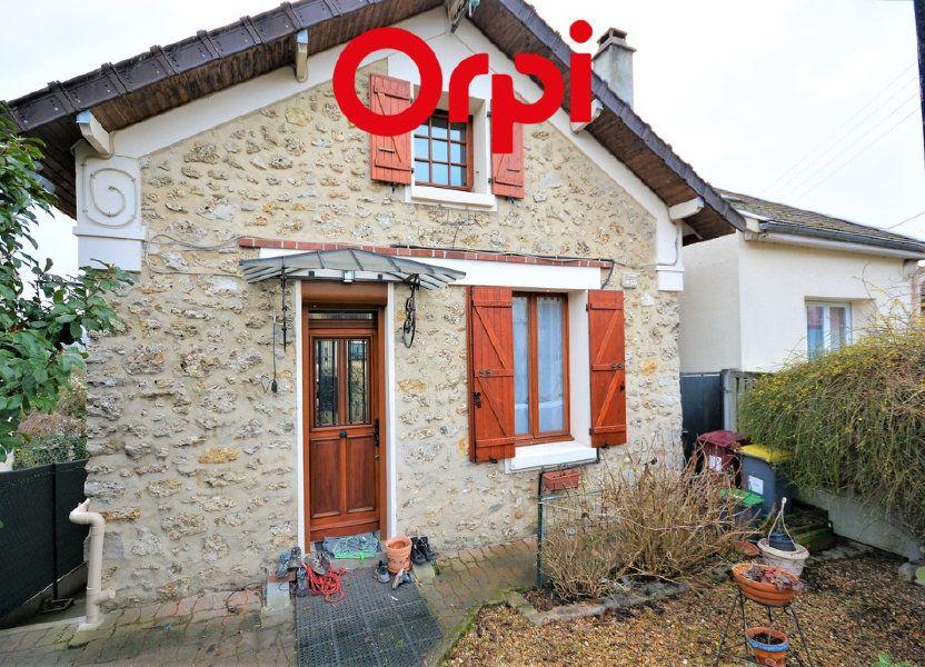 Maison à vendre 102m2 à Thorigny-sur-Marne