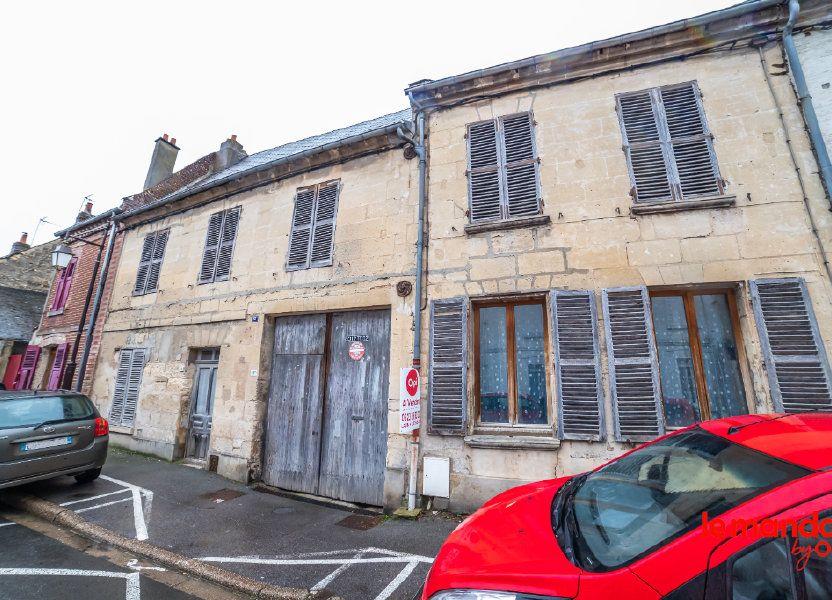 Immeuble à vendre 132m2 à Crépy