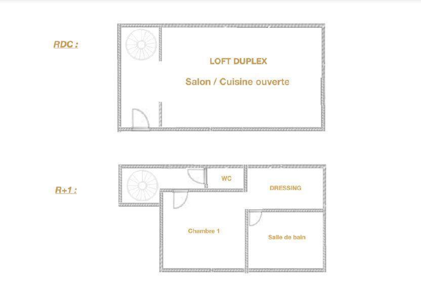 Appartement à vendre 51m2 à Arras