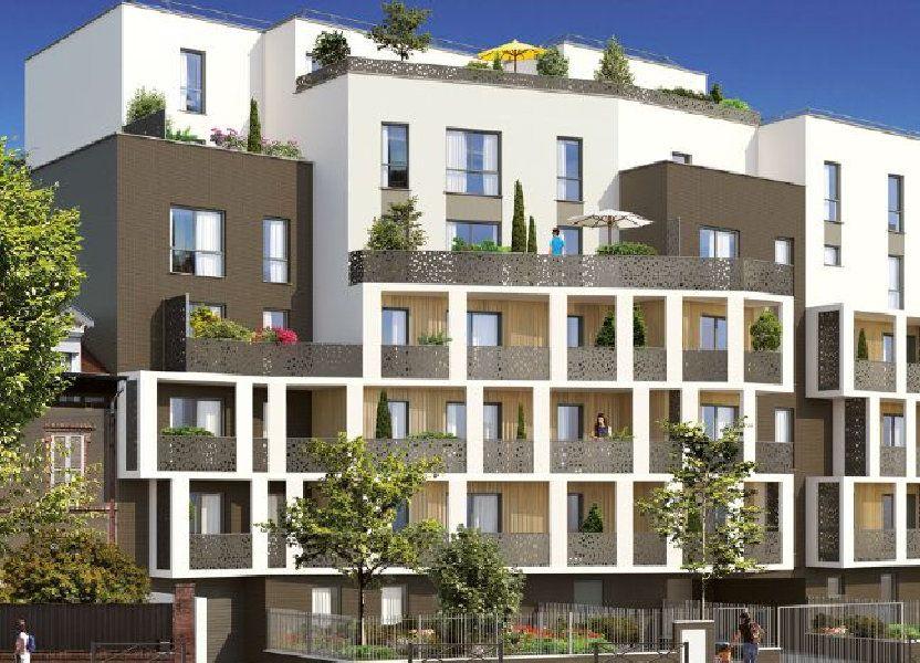 Appartement à louer 46.49m2 à Noisy-le-Sec