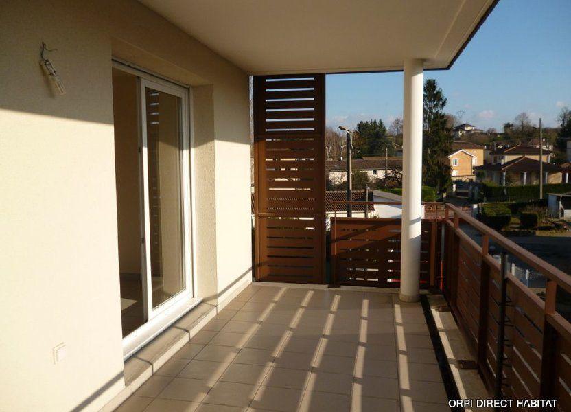 Appartement à louer 65.4m2 à Jassans-Riottier