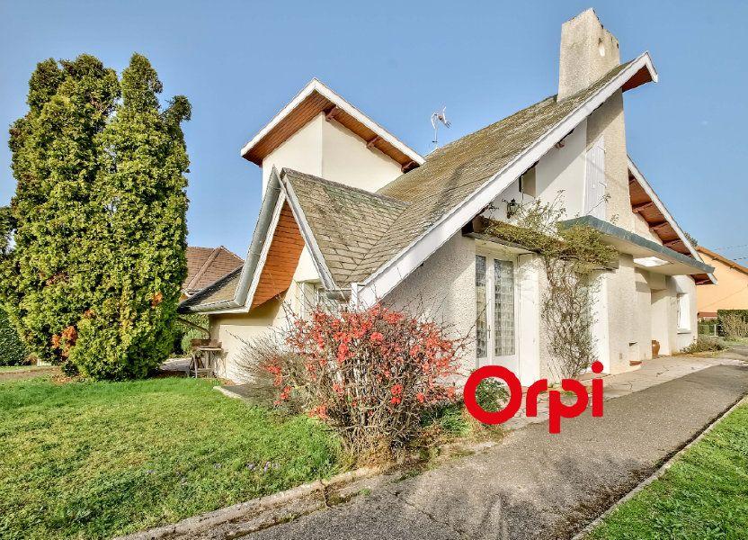 Maison à vendre 163m2 à Bourgoin-Jallieu