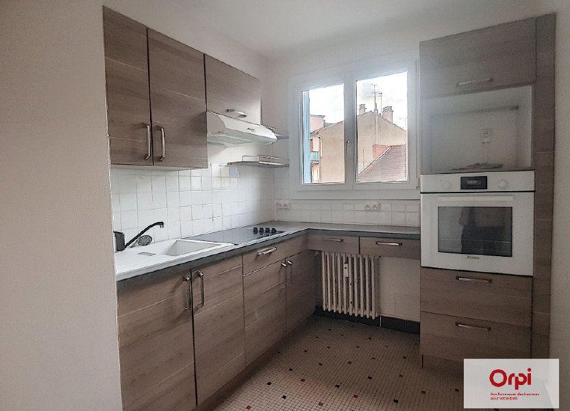Appartement à louer 58m2 à Montluçon