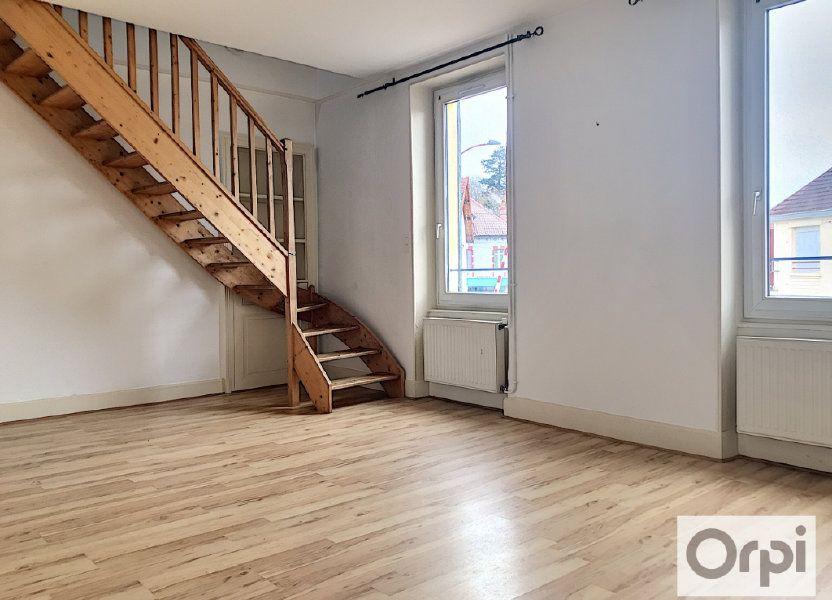 Appartement à louer 55.38m2 à Montluçon