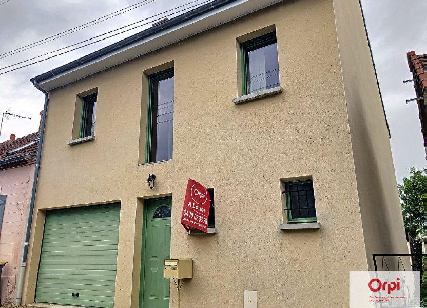 Maison à louer 105.75m2 à Néris-les-Bains