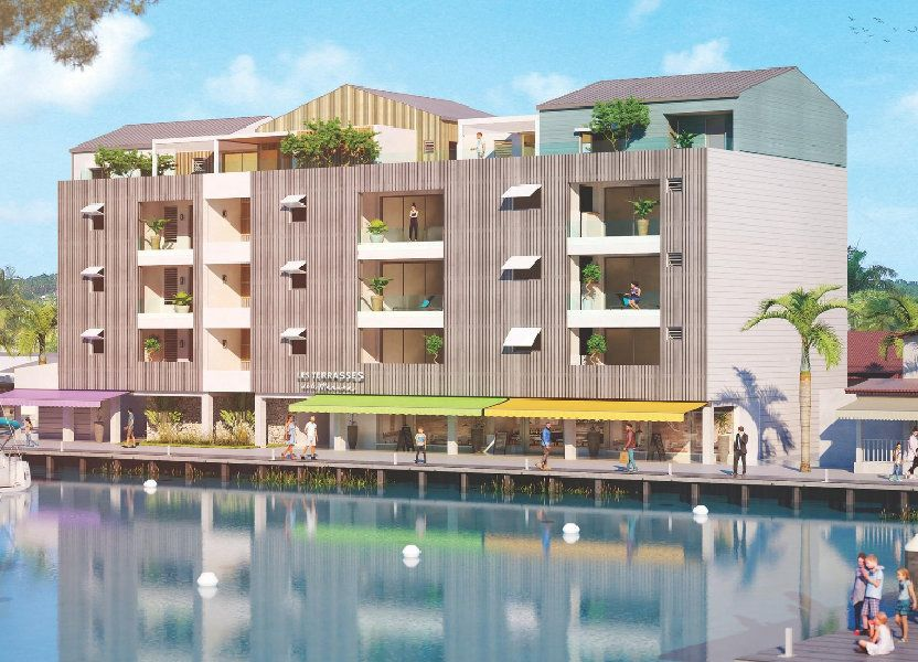 Appartement à vendre 46.89m2 à Saint-François