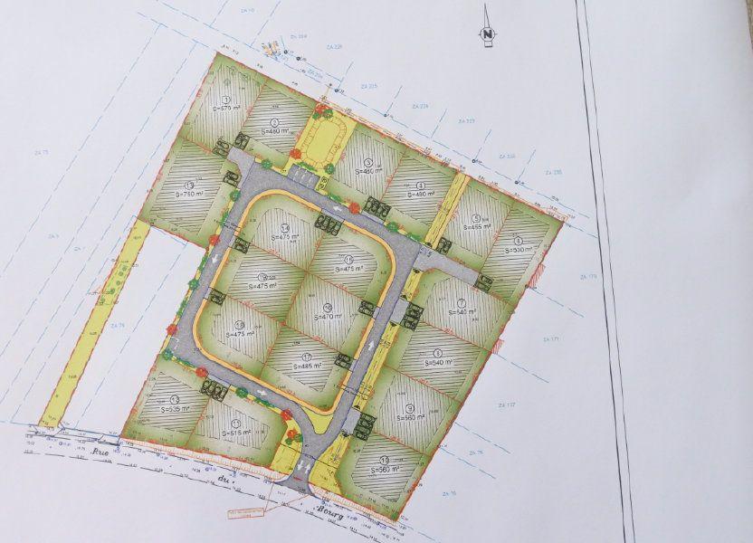 Terrain à vendre 485m2 à Saint-Nazaire-sur-Charente