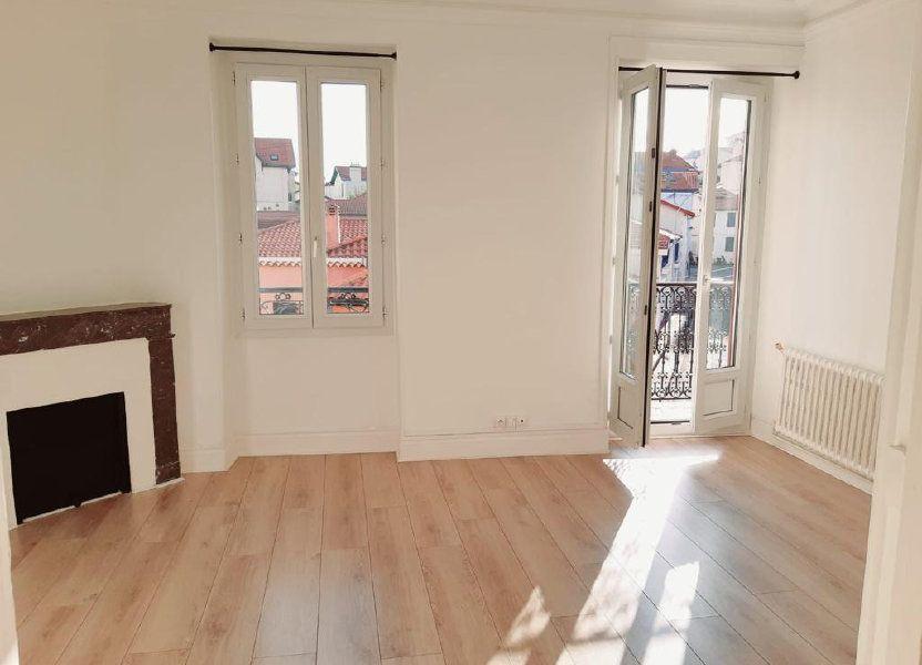 Appartement à louer 82.31m2 à Biarritz