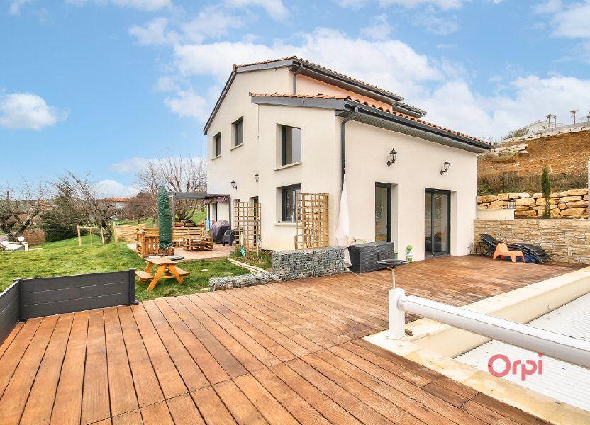Maison à vendre 175m2 à Saint-Pierre-la-Palud