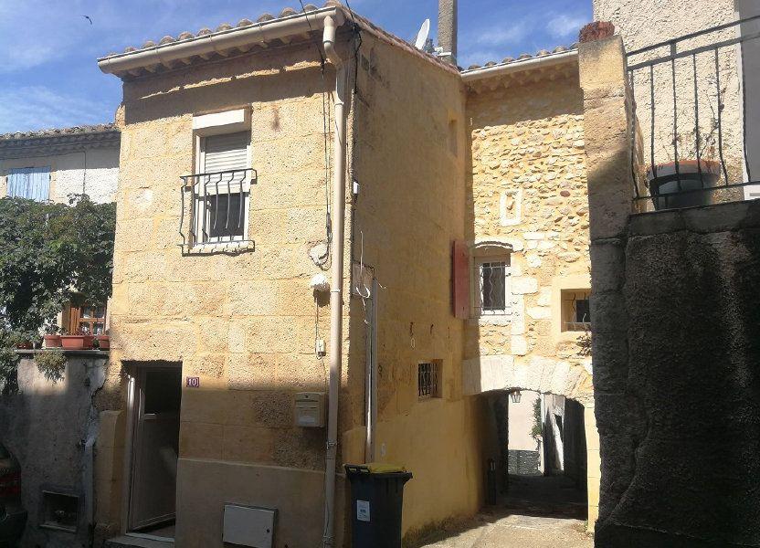 Appartement à louer 40m2 à Estézargues