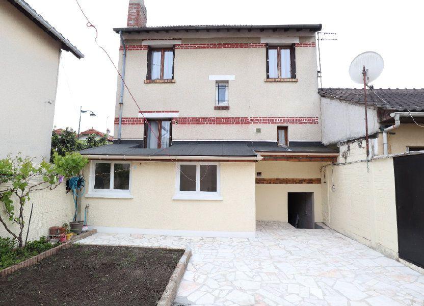 Maison à vendre 93m2 à Les Pavillons-sous-Bois