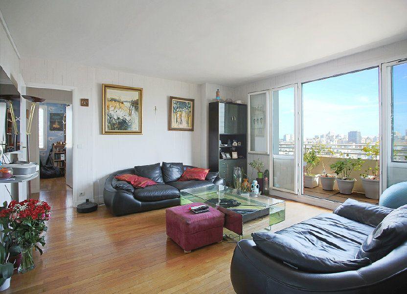 Appartement à vendre 85.37m2 à Paris 14