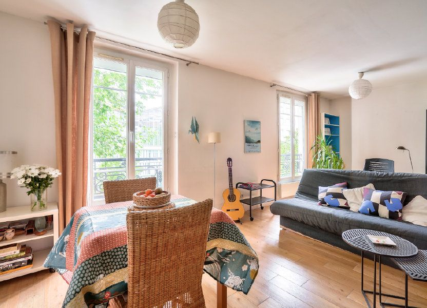 Appartement à vendre 33.9m2 à Paris 13