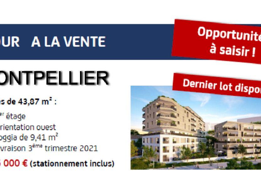 Appartement à vendre 44m2 à Montpellier