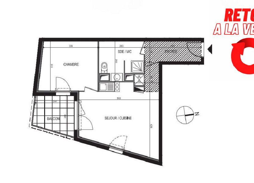 Appartement à vendre 43.5m2 à Montpellier