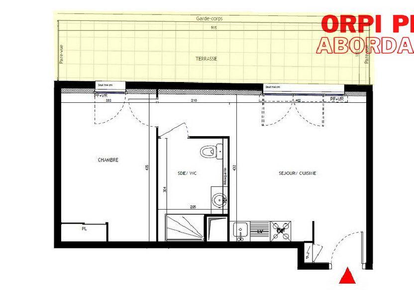 Appartement à vendre 39m2 à Montpellier