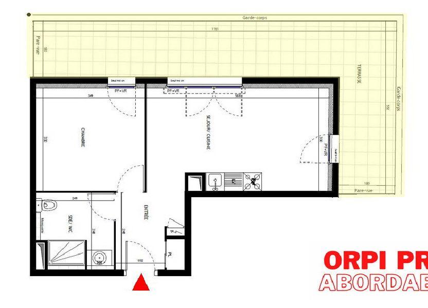 Appartement à vendre 41.4m2 à Montpellier