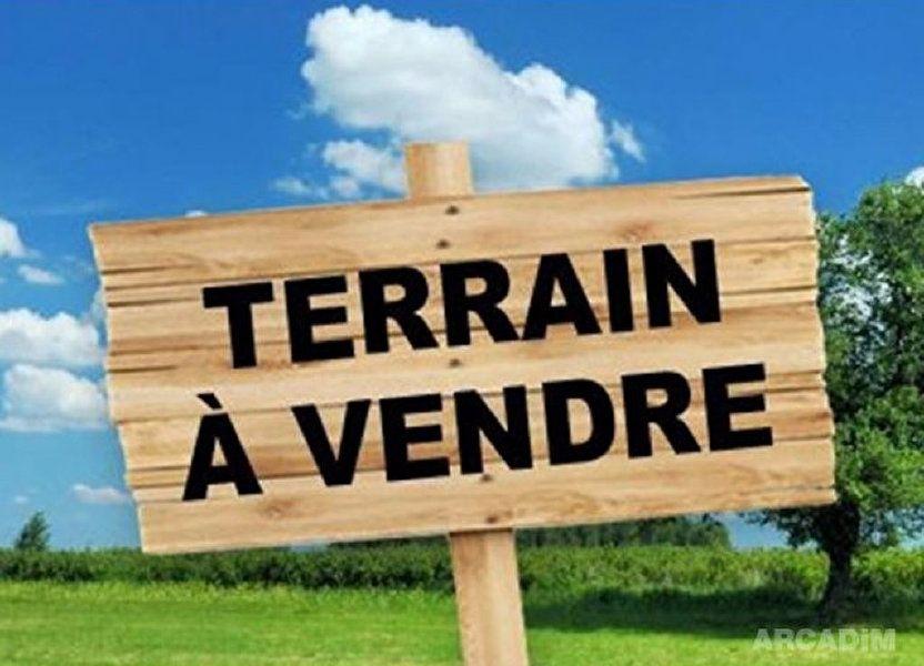 Terrain à vendre 2496m2 à Berneuil-sur-Aisne