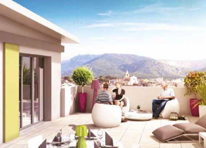 Appartement à vendre 35.04m2 à Aubagne