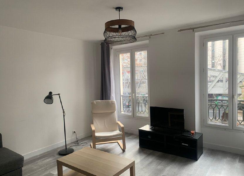 Appartement à vendre 45.15m2 à Paris 18
