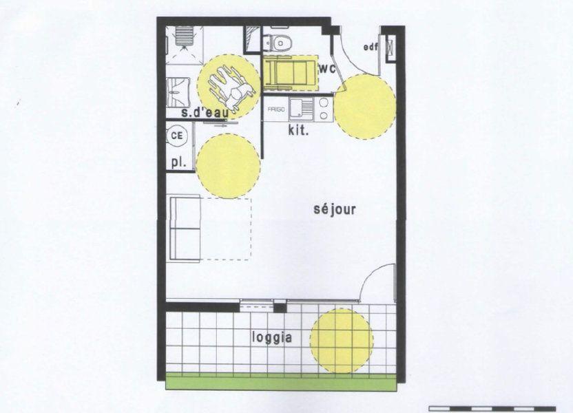 Appartement à vendre 33m2 à Balma