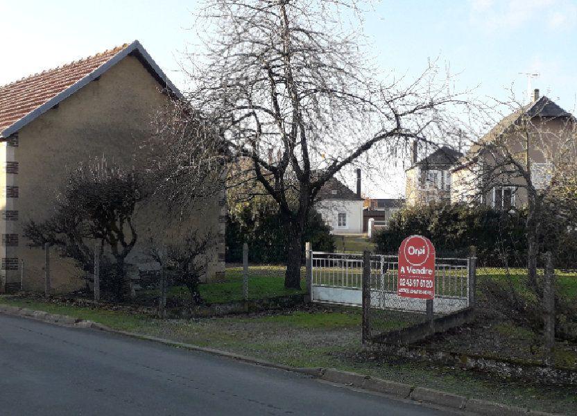 Terrain à vendre 916m2 à Saint-Cosme-en-Vairais