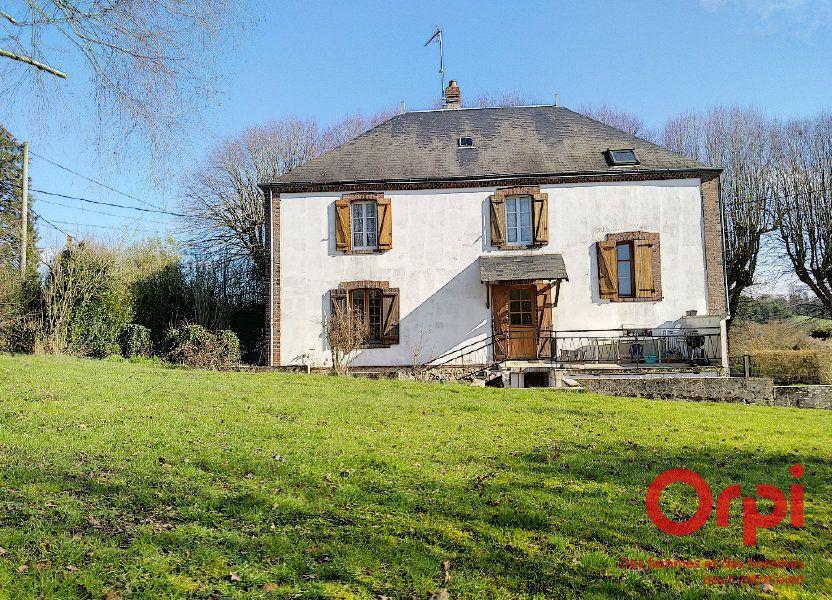 Maison à vendre 144m2 à Coudray-au-Perche