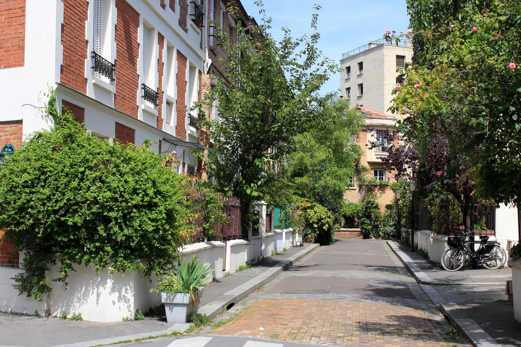 La Butte Aux Cailles Photos immobilier butte-aux-cailles - vivre dans le quartier butte