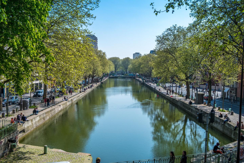 Immobilier goncourt canal saint martin vivre dans le - Canal saint martin restaurant ...