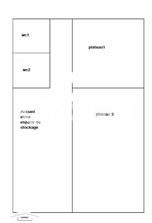 Bureaux à louer 0 84m2 à Parçay-Meslay vignette-4