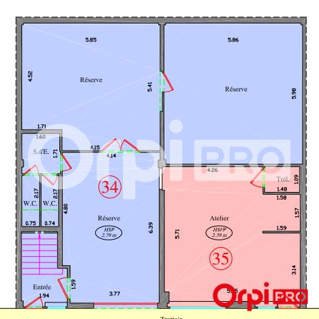Local d'activité à vendre 0 234m2 à Saulx-les-Chartreux vignette-3